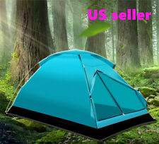 3 Person Windbreak Camping Tent Dual Layer Waterproof Pop Up Tourist Tents