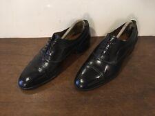 Bally Wingtip Fino Oxford Lace Up Cap Toe Shoes Sz. 8 D