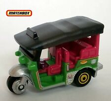 GREEN Tuk-Tuk Bangkok Thailand Taxi.. MBX Adventure City. DVK21 New in Package!
