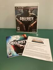 Call Of Duty Black Ops For PlayStation 3 PS3 Rare NFS Version