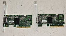 (2) HP 434090-001 4X PCIE Single Port Infiniband