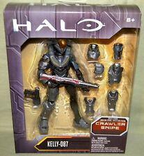 """KELLY-087 Halo 6"""" Figure Mattel Forerunner Alpha  Crawler Snipe BAF 2016"""