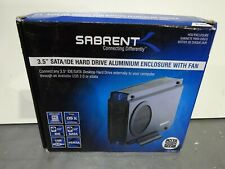Sabrent 3.5'' SATA/IDE Hard Drive Aluminium Enclosure With Fan