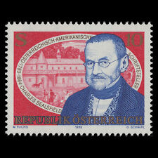 Austria 1993 - 200th Anniv the Birth of Writer Charles Sealsfield - Sc 1593 MNH