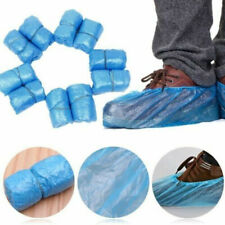 100~ 1000 x Waterproof Boot Shoe Covers Plastic Disposable Overshoes Protector