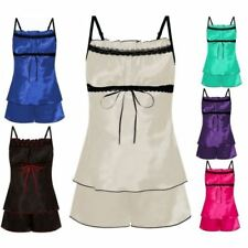 Glamour Patternless Regular Nightwear for Women