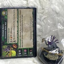 World of Warcraft Miniatures Blindlight Murloc with Cards NEW WOW Core Set Mage
