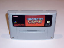 UNDERCOVER COPS - PAL IN ENGLISH GAME - SUPER NINTENDO SNES