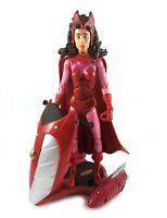 Scarlet Witch Vintage Toybiz Marvel Legends Action Figure 100% Complete Avengers