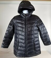 The North Face 'loralei' Down Black Jacket Size Medium