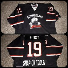 KIJHL RARE FIND - SUMMERLAND STEAM GAME WORN JERSEYS U CHOOSE FREE SHIPPNG