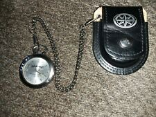 With Belt Clip Case Star Motorcycles Pocket Watch