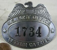 Vintage Workers Badge Pin US Post Office Letter Carrier 1734