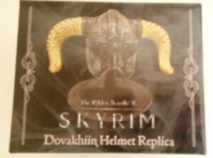 Elder Scrolls Skyrim Dovahkiin Helmet Replica Loot Crate