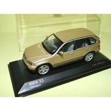 BMW X5 4.4i E53 Bronze Oxfordgrun MINICHAMPS 1:43