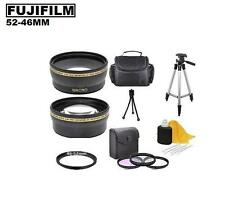 7PC Lens Filter Accessory Kit For Fuji Finepix S5800 S5700 S700 Digital Camera