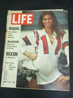 Vintage LIFE Magazine June 2, 1972 Raquel Welch with Roller Skates over shoulder
