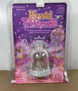 """1992 KRYSTAL PRINCESS;Princess Krystal""""BRIDE"""" NIC By Playskool"""