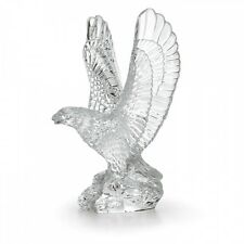 Waterford Fred Curtis 7.5in Eagle Crystal Sculpture Collectible # 105193