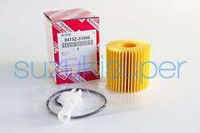 1 Genuine Toyota Oil Filter 04152-31090 Element Kit Aurion Kluger RAV 4 Tarago
