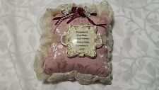 Grandma Gift Rose Scented Decorative Pillow New  Pink