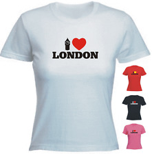 I love(heart) London Ladies Fit Cool New Tshirt