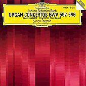 Bach Solo Organ Concerto 1-6 Simon Preston CD DG Deutsche Grammophon BWV 592-596