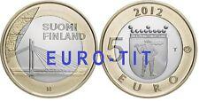 5 €   FINLANDE   COMMEMORATIVE  2012    LE PONT  DU  LAMBERJACK    DISPONIBLE