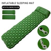 Matelas gonflable léger lit petit pain air camping tapis couchage coussin BR