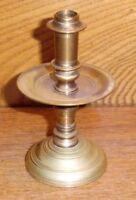 """WORN Miniature Virginia Metalcrafters Brass Candlestick - 4"""""""