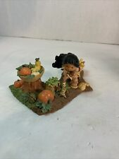 """Enesco Friends Of The Feather """"She Who Plants Seeds Of Friendship� 1998"""