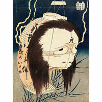 Ghost of Oiwa c1831-1832 Large Canvas Art Print