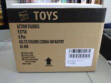 GI Joe Classified Cobra Infantry Factory Sealed Case of 6 Figures Rare #3!!!