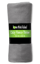 Imperial Home 50 x 60 Soft Warm Fleece Blanket – Throw Blanket