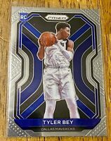 2020-21 Prizm Basketball Rookie Card RC Tyler Bey Dallas Mavericks #251