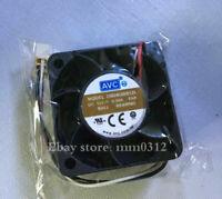 1pcs AVC DB04028B12L 4028 4 cm 12V0.36A dual ball mute server fan 3PIN