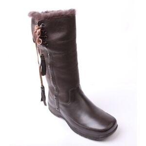 """Mubo Australia Damen Lammfellstiefel Winterstiefel Boots """"Sienna coffee"""""""