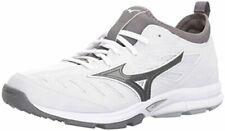 Mizuno Men's Players Trainer 2 Turf Shoe Baseball, White/White, Size 12.0 3Juw