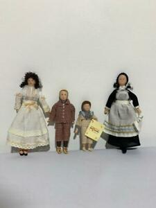 Del Prado Collection Dolls BNWOT Doll House Porcelain Victorian