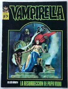 VAMPIRELLA N° 27 HORROR ARGENTINA EDITORIAL MAZZONE 1972
