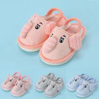 Toddler Newborn Kids Baby Girls Boys Warm Shoes Cute Cartoon Soft-Soled Slippers