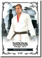 Royce Gracie 2013 Blatt National Exklusive Sammler Promo Karte