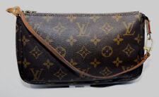 Louis Vuitton Pochette Accessories Monogram Clutch Wristlet Crossbody PMCCW5