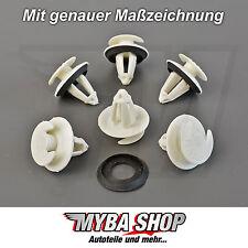 5x türverkleidungs clips de fixation pour Mercedes colliers support avec joint NEUF