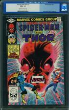 MARVEL TEAM UP 115 CGC 9.6 Thor Spider-Man Bob Layton Trimpe Cover 1982