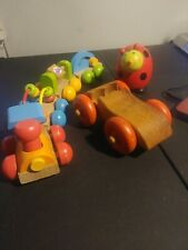 Lot Of 3 Wooden Toys