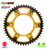Supersprox Stealth Rear Sprocket 48T Kawasaki KX KXF KDX KLX Suzuki RMZ - Gold