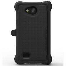 Ballistic Tough Jacket Maxx Case for LG Classic (US Cellular) Black/Black