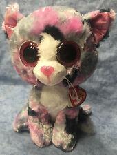 w-f-l Ty Buddy Lindi 22 cm Cat Boos Glubschi Glitter Eyes