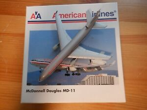 Herpa Wings American Airlines MCDonnell Douglas 1:500 MD-11 503389 EXC #806